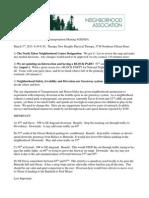Ntna T/LU Agenda July 2015