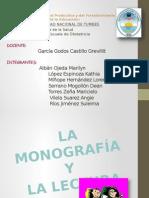 Monografía y Lectura