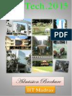 MTech Adm Brochure 2015