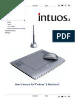 Manual do Usuário - Mesa Digitalizadora Intuos 3