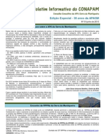 Boletim Informativo Conapam 1