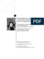 Discriminación y prejuicios de jóvenes sonorenses hacia el migrante indígena.