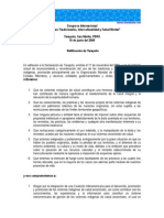 Declaración de Tarapoto 2009