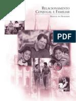 Relacionamento Conjugal e Familiar – Manual Do Professor