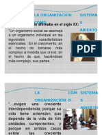 Sesion 07 - La Organizacion Como Sistemas