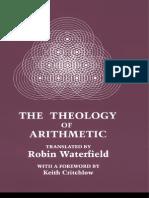 Iamblicus - Theology of Arithmetic