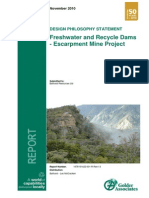 [PAPER] Design Philosophy Statement – Freshwater and Recycle Dams – Escarpment Mine Project.pdf