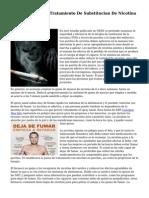 A Pesar De Que El Tratamiento De Substitucion De Nicotina