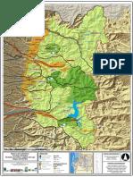 Mapa Reserva Nevados de Chillan- Lago Laja