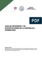 Guia de Inversion y de Exportaciones de La Republica Dominicana Usaid 2005