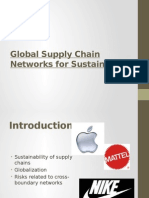 Supply Chain Sustainability