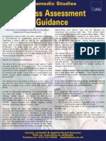 Recruitment Fitness Asses Guidance
