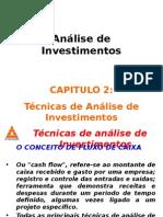 Cap02_Técnicas de Análise de Investimentos