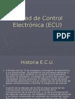 Unidad de Control Electronica (Ecu)