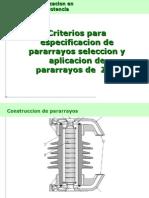 Selecion de Pararrayos v SEPT 2009