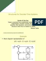 Block Diagram Representation