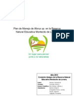 Plan de Manejo Morus Sp.
