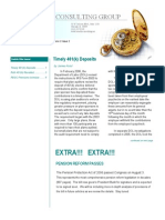 Benefits Consulting Group Summer 06 Newsletter