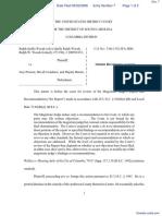 Woods v. Preston et al - Document No. 7