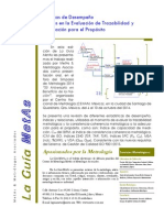 Estadísticas de Desempeño aplicadas en la Evaluación de la Trazabilidad y la Adecuación para el Propósito