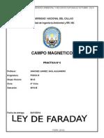 Ley de Faraday laboratorio de fisica