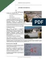 Informe Topografico Unh