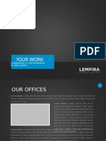 Lempira PPT - Blue design