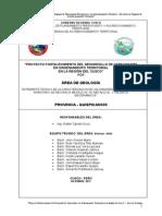 Modelo de Informe Geologico
