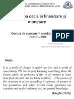 Modelare 2013-2014 - Curs Decizia de Consum in Conditii de Risc
