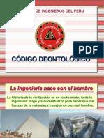Codigo Deontologico Colegio de Ingenieros