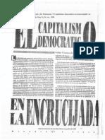 Przeworski y Wallerstein, M. - Punto de Vista. Capítulo. El Capitalismo Democrático en La Encrucijada
