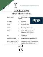 TECNOCO-Método Del Encharcamiento