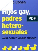 HIJOS GAY, PADRES HETEROSEXUALES. Plan de Curación Familiar - Richard Cohen