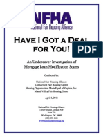 4-6-11_ NFHA Report on Mortgage Loan Modification Scams