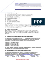 FAbricantes Materiais - Padrão de Entrada e Caixa Do Padrao CPFL