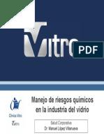 Manejo de Riesgos Químicos en La Industria Del Vidrio Salud