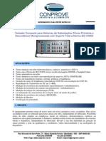 CE7012 Mala de Testes Compacta Para Subestacoes Testes Primarios e Secundarios