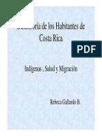 Indigenas, Salud y Migracion 2015
