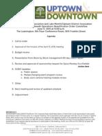 SOBO Meeting June 17, 2015 Agenda Packet