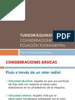 Ecuacion fundamentales de las turbomáquinas