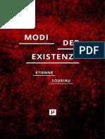 Souriau-Modi Der Existenz