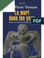 38084795 Jean Pierre Vernant La Mort Dans Les Yeux