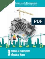 9 Modèles de Construction Efficace Au Maroc