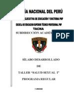 SILABO Educacion Sexual