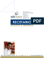 Recetario Helados Español