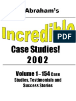Incredible Case Studies - Volume 1