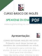 CURSO BÁSICO DE INGLÊS como estudar