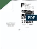 Ensayos sobre Microhistoria (2002)