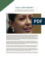 09.12.14 Delinea PGR apoyo a niños migrantes