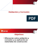 4.- Oxidación y Corrosión